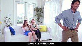 DaugherSwap - Hot teens Fuck...