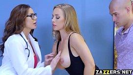 Doctor Kendra Lust sucks...