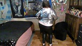 strip dance for a fan