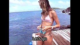 Dive In With Supermodel Alessandra Ambrosio