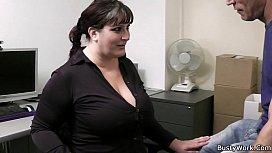 Busty working woman it...