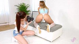 Lesbian scene with Rebecca Volpetti  ...