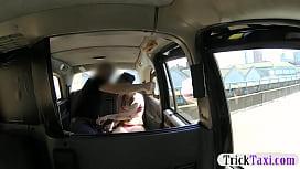 Fake driver fucks his...