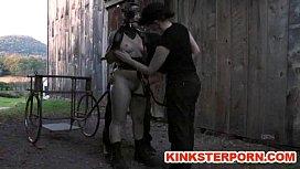 Ponyslave Pervert BDSM Outdoor...