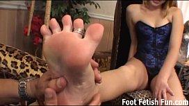 Worship my feet and...