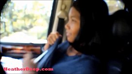 HD Hurricane Irma survivor 8 month pregnant Thai Teen deepthroat throatpie cum swallow in car