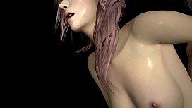 Final Fantasy 3D Hentai - Lightning Quickie