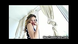 Teen Latina Gets Her...