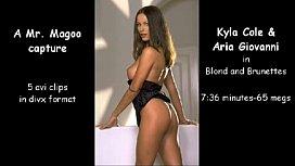 Kyla Cole and Aria Giovanni