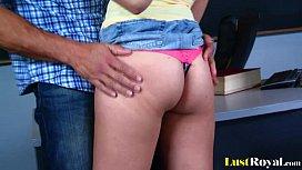 Naughty student Vanessa Cage...