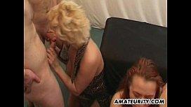 2 naughty amateur Milf...