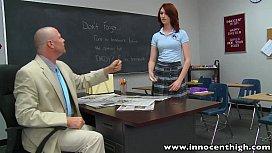 InnocentHigh Redhead schoolgirl teen...