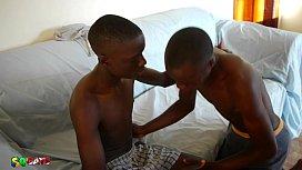 Cute Black African Twinks...