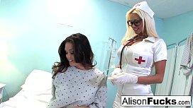Alison Tyler fucks Nikita...