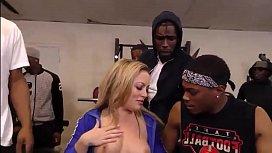 Carmen Valentina Gets Gang...