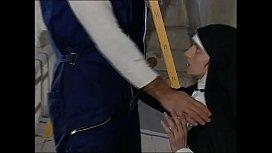 Slutty nun ass fucked...