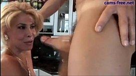 Gorgeous italian blonde MILF...