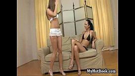 Lesbians  Regina Moon and Xena Misty ...