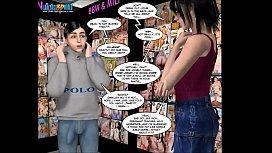 3D Comic: Malevolent Intentions...