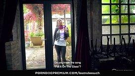 BUMS BESUCH - German pornstar...