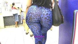 Blue Leopard Tights...
