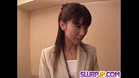 Misato Kuninaka gets tasty...