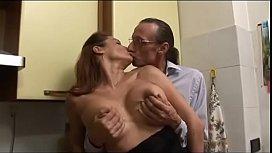 Italian busty milf loves...
