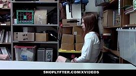 ShopLyfter - Redhead Teen Caught...