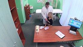 Fake doctor banging hot...