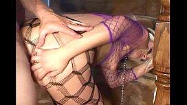 Sex slave in pantyhose...