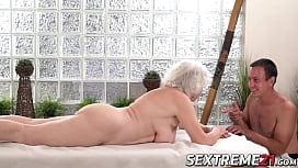 Horny granny Norma needs...