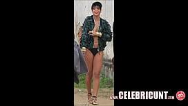Rihanna Nude Celebrity Tits...