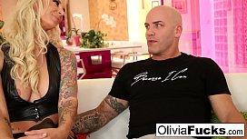 Olivia Austin Hot Threesome...