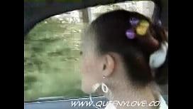 Car Blowjob Cumshot Swallow...