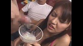 Japanese Girls Drink Cum Bukkake Cumpilation
