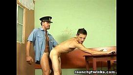 Hunky Cop Loves Banging...