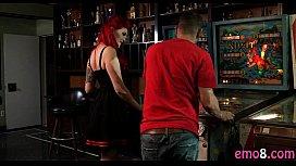Emo redhead bitch Amber...