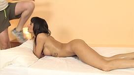 Massage with hardcore sex...