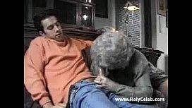 European Granny Goes Wild...