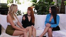 Lesbians Brett Rossi, Penny...