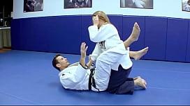 Horny Karate students fucks...