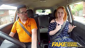 Fake Driving School Voluptuous...