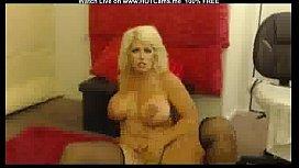Big Boobs Curvy Blonde...