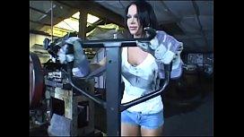 Gorgeous brunette machine setup man Christina Bella passes on some ideas about factory performance improvement with Workshop Supervisor Dorothy Black