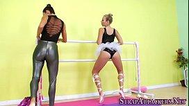 Ballerina gets ass fucked...