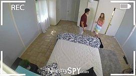 NannySpy Exhibitionist nanny Lena...