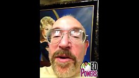 Bunny Lain Gives Ed Powers A Blowjob