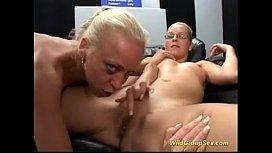 Gangbang bukkake orgy german...