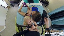 Alix and Addison - Threesome...