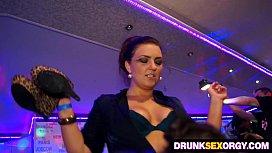 Hot boozed ladies fucking...